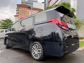 Alphard 3.5 Q Executive Lounge ATPM 2016 Nik2016 Black Km30rb RARE
