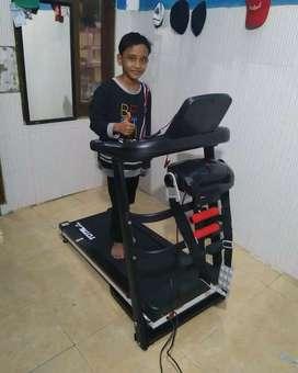 Treadmill Elektrik 3 Fungsi bisa COD