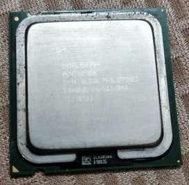 Intel Pentium 4 prosecer 3.06 GHz speed