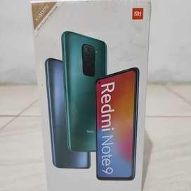 (PROMO) Xiaomi Redmi Note 9  4/64 Garansi Resmi