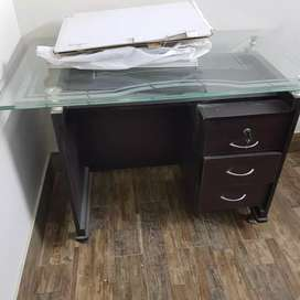 Office table with study chair