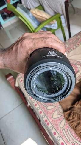 Nikon 70 - 300 mm Zoom lense