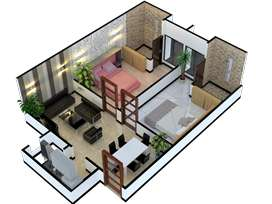 beautifully Design Flats At 20% Down-Payment 2.5 years InstallmentPlan