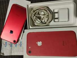 Apple iPhone 7 128gb red colour just in spotless condition