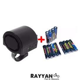 Bel Sepeda Elektrik + Baterai AAA 2pcs