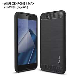 Case Softcase Hardcase Ipaky Carbon Asus Zenfone 4 Max 5,2 Inch