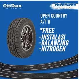 Jual ban mobil ukuran 265/70 R 17 Toyo tires opat2 untuk Pajero
