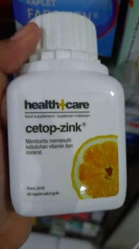 Cetop zink (vitamin C 600mg)