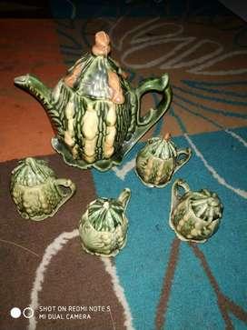 Teko jadul, antik keramik