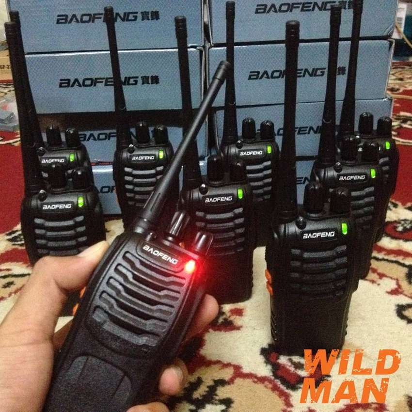 BaoFeng BF-888S Two Way walkie talkie Radio with LED Flashlight 1pc