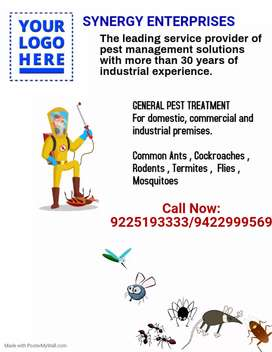 PEST CONTROL AND SANITISATION