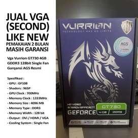 VGA GEFORCE VURRION GT730 4GB DDR3 (2nd)