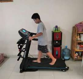 untuk olahraga - Treadmill elektrik - TL 619 total fit