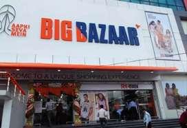 Dear candidate hiring for sales Big Bazaar
