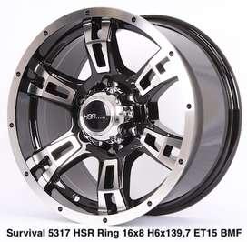 SURVIVAL 5317 HSR R16X8 H6X139,7 ET15 BMF