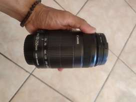 Lensa tele canon 55 250mm
