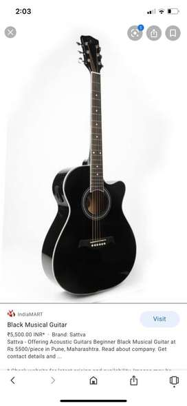 Black guitar best thing ever
