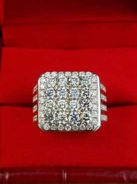 Cincin Berlian Banjar Emas