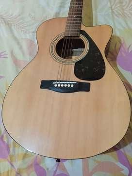 Jual cepat gitar YAMAHA fs100c ori.