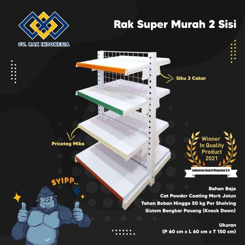 Jual Rak Minimarket Rak Supermarket & Rak Gudang