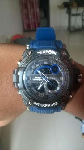 new exponi digital watch hd light with alarm