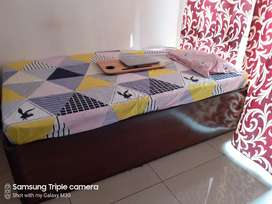 Deewan bed with storage & mattress