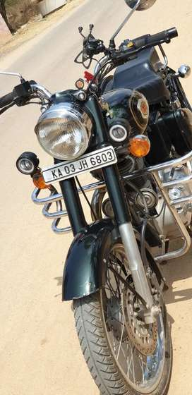 You get the Best and Original Bullet 500cc. No modifications done.