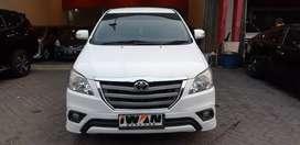 2015 Toyota Kijang Innova G Luxury 2.0 A/T Bensin