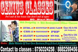 Learn Website and Graphics Designing
