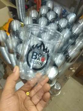 Kemasan gelas plastik cup papper cup ricebowl berbagai ukuran