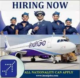Urgent hiring for ground staff