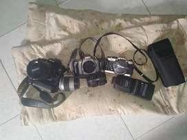 Kamera Nikon D90,F10,F55