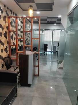 Furnished office with 3 cabins and 8/10 Seats, I Thum Noida