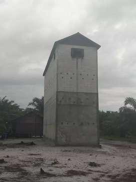 Jual Kebun sawit + Gedung Walet
