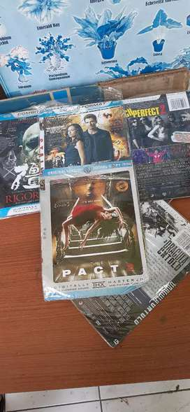 Jual kaset dvd bekas harga murah.