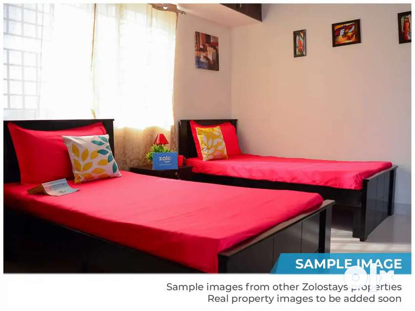 Separate room full furnished with ac 17000 in front station goregaon w