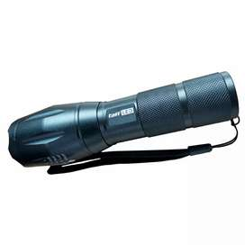 Senter LED Tactical USB Rechargable Flashlight Zoomable XML-T6 10000 L