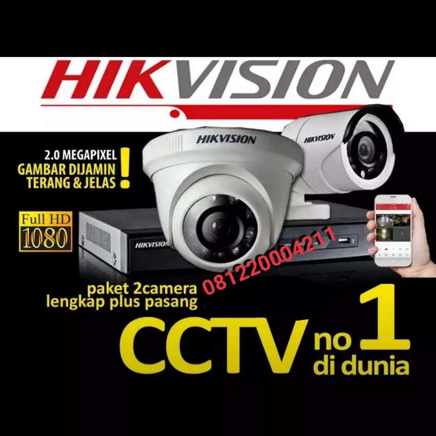 Jual+pasang kamera CCTV 2Mp Pancoran Mas Depok area pasang 0