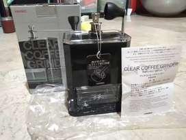 Hario clear coffee grinder
