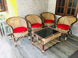 Cane furniture chair , tepoy , fresh new