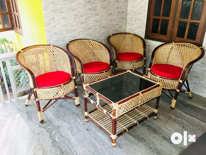 Cane furniture chair , tepoy , fresh new 0