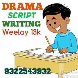 Good writing good earning from home weekly 13000 salary