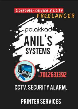 Computer service, printer service, CCTV , SECURITY ALARM