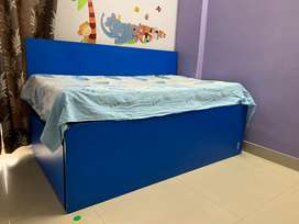 Bed cum Diwan with 2 mattress