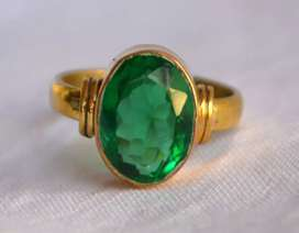 Natural 7.25 Ratti  Emerald Panna Ring