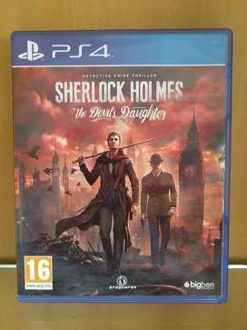 PS4 game Sherlock Holmes The devil's daughter
