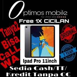 iPad PRO 2018 Apple [11inch/64GB/Wifi] TerBukti Cash\TT\Kredit