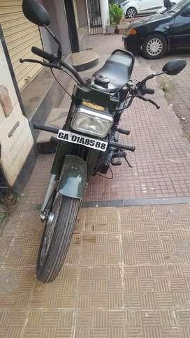 Sooraj motorcycle.