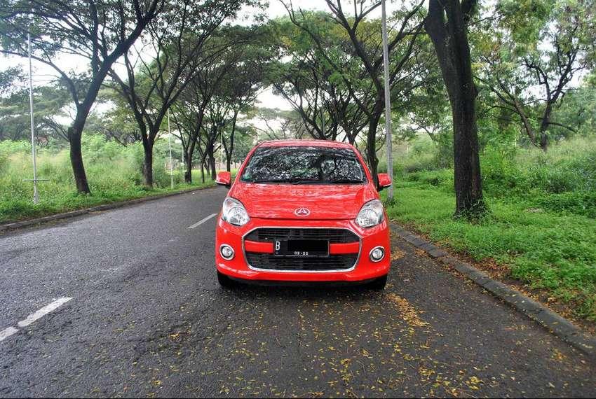 Daihatsu Ayla 1.0 X AT 2017 Warna Merah Metalik 0