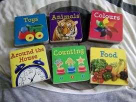 Buku anak-anak ada enam macam